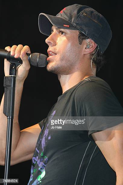 Enrique Iglesias performs at GAY at the Astoria on June 02 2007 in London United Kingdom