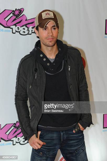 Enrique Iglesias performs during KISS 108's Jingle Ball 2013 at the TD Garden on December 14 2013 in Boston Massachusetts