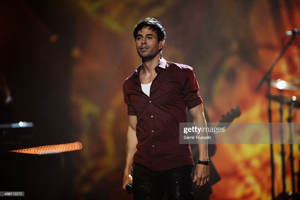 Enrique Iglesias performs on stage during the MTV EMA's 2014 at The ...