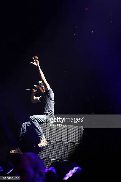 Enrique Iglesias performs onstage at the Hot 995's Jingle Ball 2013 at Verizon Center on December 16 2013 in Washington DC