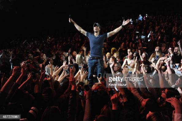 Enrique Iglesias performs onstage during Hot 995's Jingle Ball 2013 presented by Overstockcom at Verizon Center on December 16 2013 in Washington DC