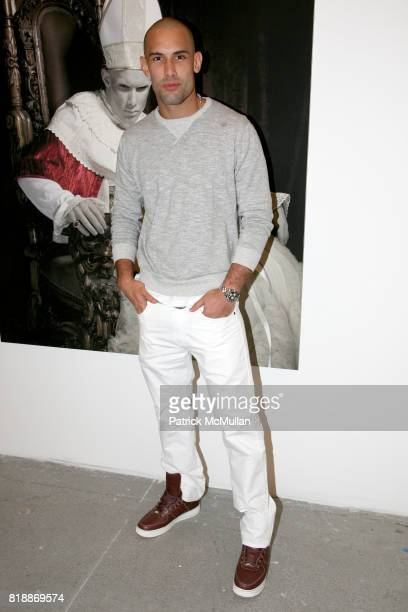 Enrique Miron attends 'The Transformation of ENRIQUE MIRON as El Diablo' by PAUL ROWLAND at 548 W 22nd St on April 29 2010 in New York