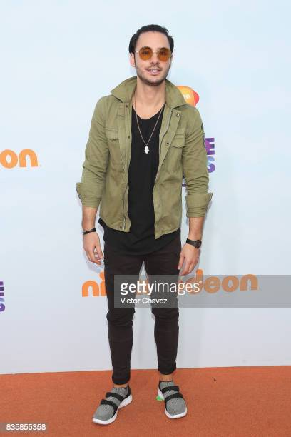 Enrique Montano attends the Nickelodeon Kids' Choice Awards Mexico 2017 at Auditorio Nacional on August 19 2017 in Mexico City Mexico