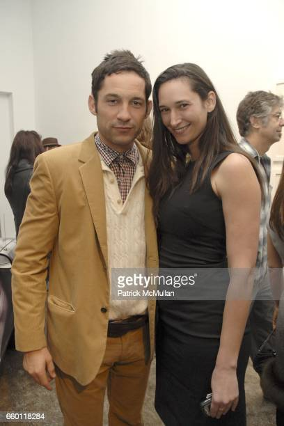 Enrique Murciano and Bettina Korek attend SHE Images of women by Wallace Berman and Richard Prince Opening at Michael Kohn Gallery on January 15 2009...