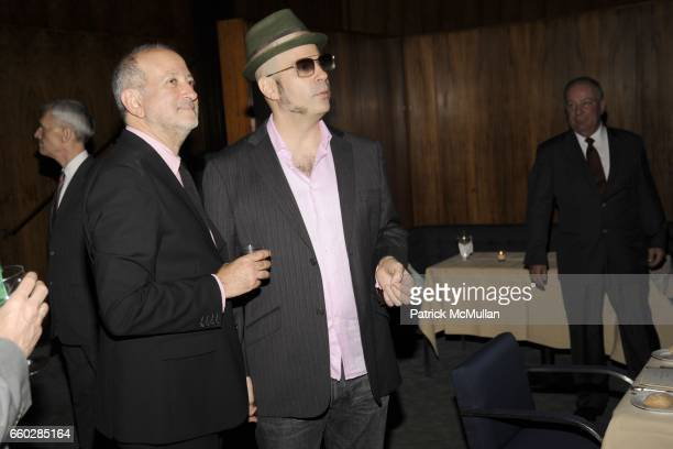 Enrique Norten and Andres Levin attend ENRIQUE NORTEN Private Dinner Celebrating the 25th Anniversary of TEN ARQUITECTOS at The Four Seasons...