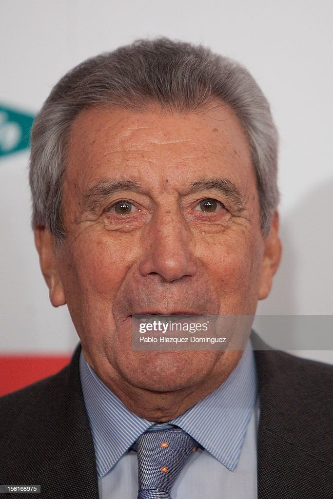 Enrique Perez Diaz attends 'As Del Deporte' Awards 2012 at The Westin Palace Hotel on December 10, 2012 in Madrid, Spain.