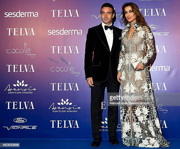Enrique Ponce and Paloma Cuevas attend Arts Sciences and Sports Telva Awards 2015 at Palau de Les Arts Reina Sofia on October 15 2015 in Valencia...