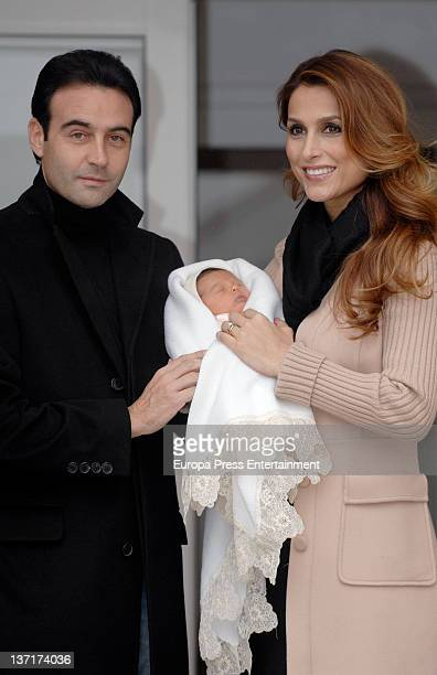 Enrique Ponce and Paloma Cuevas present their second daughter Bianca Ponce who was born on 9th January at Ruber International Hospital on January 15...