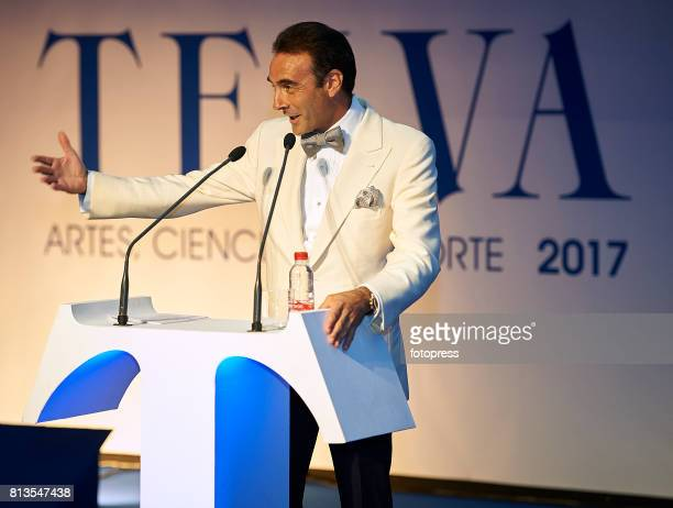 Enrique Ponce attends Arts Sciences and Sports Telva Awards 2017 at Palau de Les Arts Reina Sofia on July 12 2017 in Valencia Spain