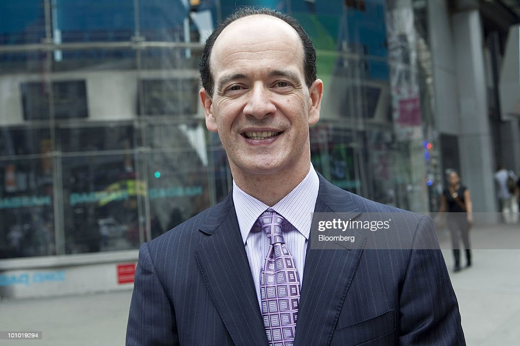 Enrique Salem, president and chief executive officer of Symantec Corp., stands for a portrait in New York, U.S., on Thursday, May 27, 2010. Symantec Corp., the largest maker of security software, agreed to buy VeriSign Inc.'s authentication- services unit this month for $1.28 billion in cash, gaining a business that certifies that websites are safe. Photographer: Daniel Acker/Bloomberg via Getty Images