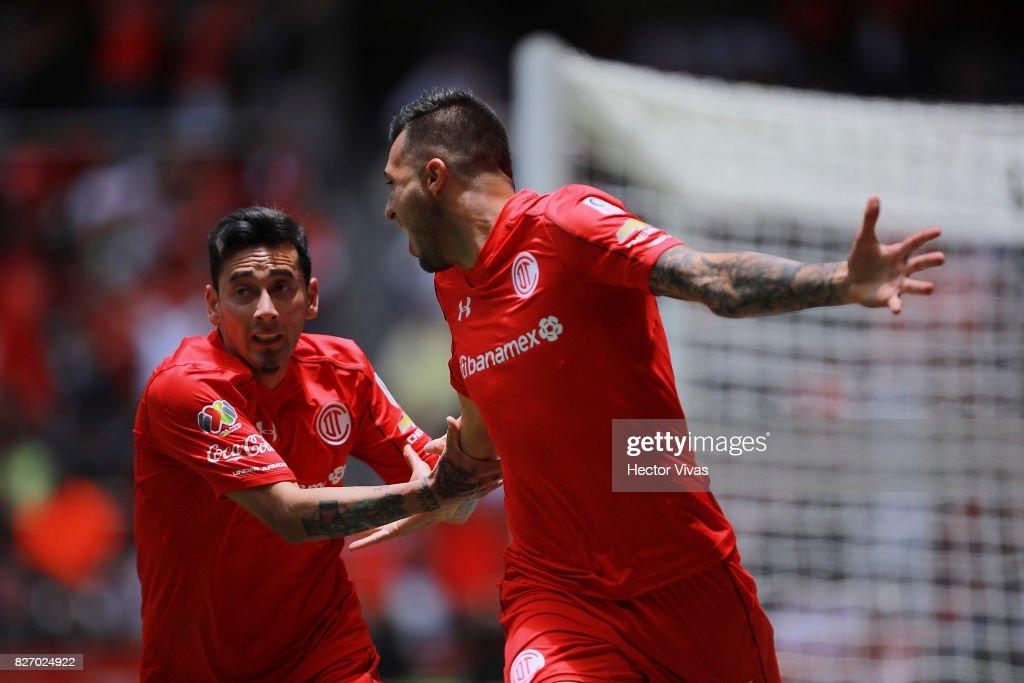 Toluca v Atlas - Torneo Apertura 2017 Liga MX