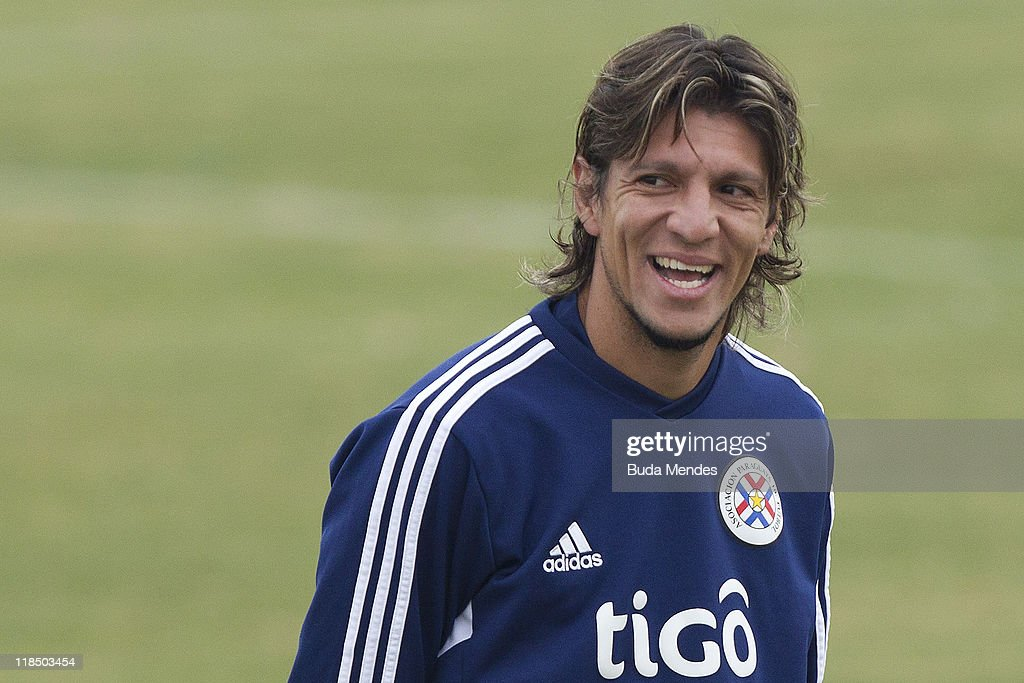 Paraguay Training Session - Copa America 2011