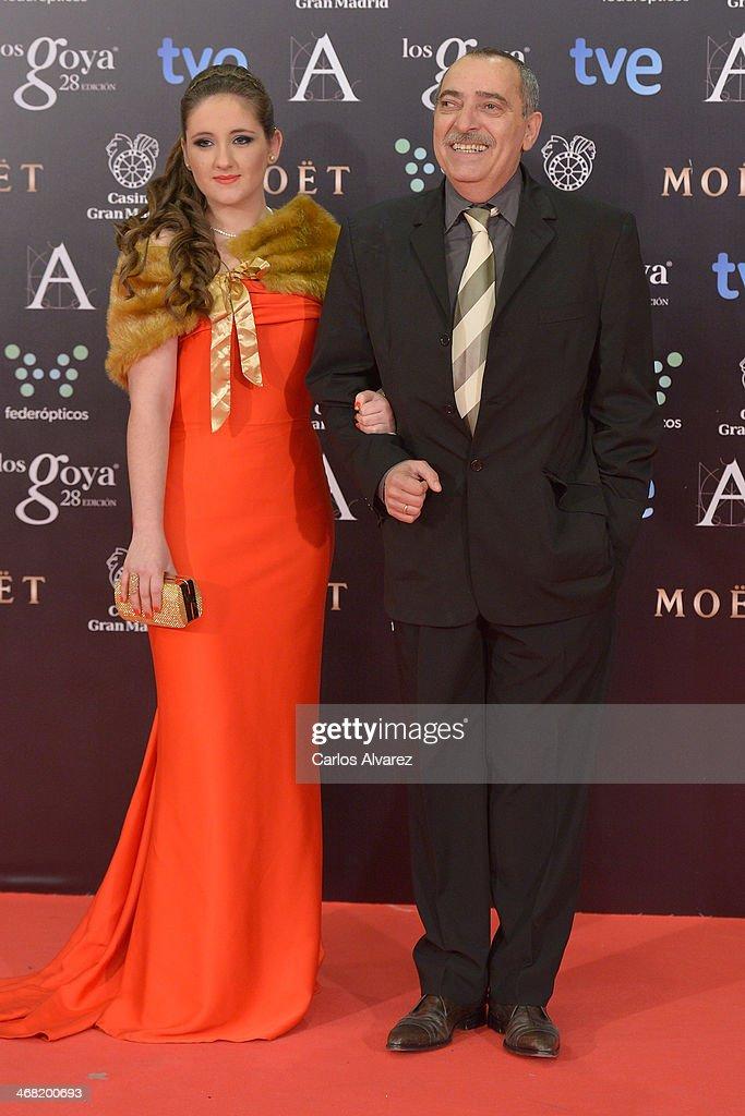 Enrique Villen attends Goya Cinema Awards 2014 at Centro de Congresos Principe Felipe on February 9, 2014 in Madrid, Spain.