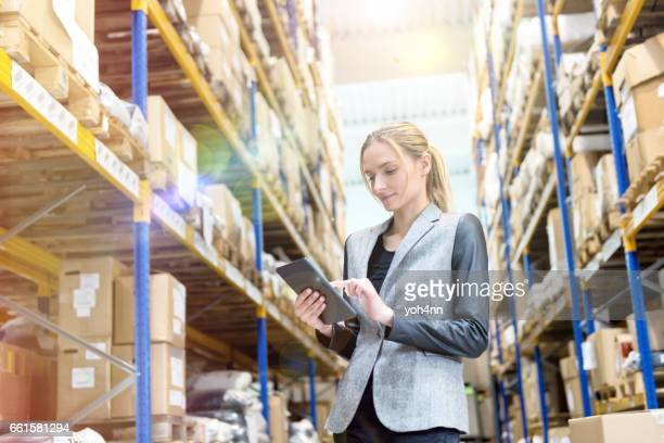 Ensuring deliveries in warehouse