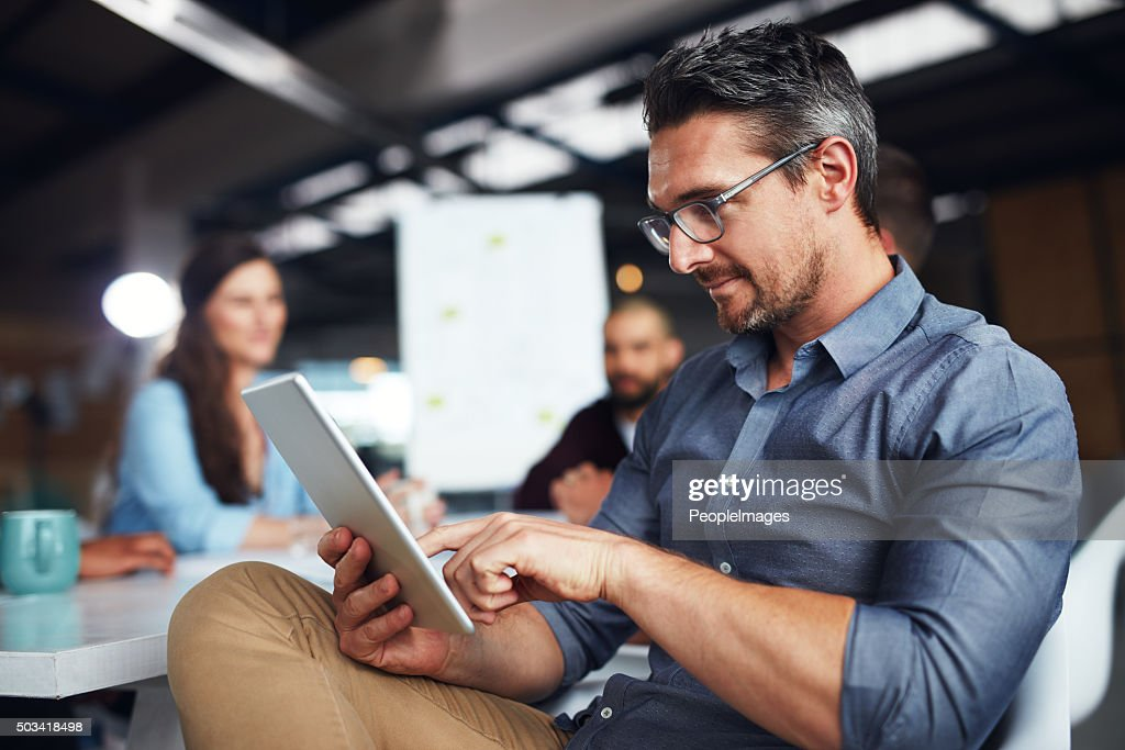 Ensuring every point is covered : Stock Photo