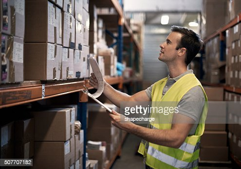 Ensuring the order is ready for shipping