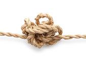Entangled string