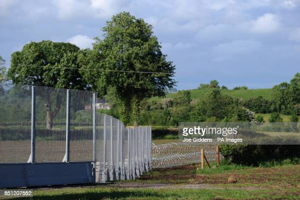 Entanglement wire and security fences around Lough Erne and the surrounding area ahead of the G8 Summit PRESS ASSOCIATION Photo Picture date Saturday...