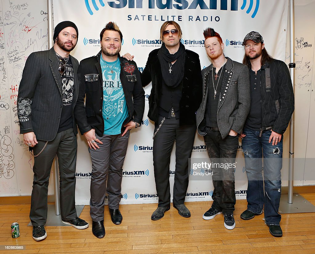 <<enter caption here>> at SiriusXM Studios on February 25, 2013 in New York City.