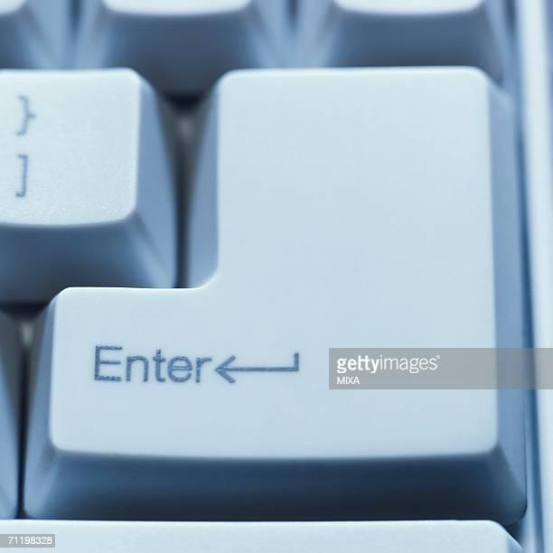 Enter key, close-up