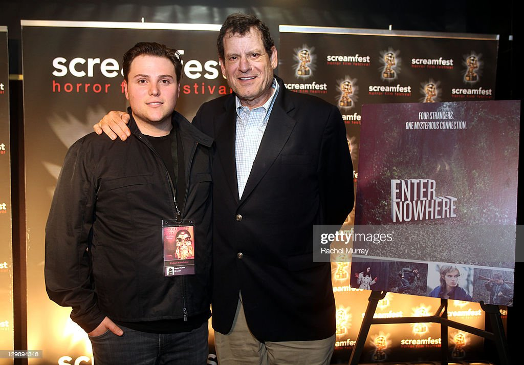'Enter Nowhere' Director/Producer Jack Heller (L) and Howard Rosenman attend the 'Enter Nowhere' Premiere during Screamfest 2011 at Mann Chinese 6 on October 20, 2011 in Los Angeles, California.