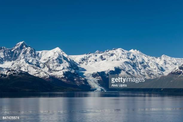 Entering College Fjord in Glacier Bay National Park