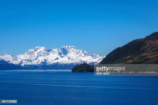 Entering Glacier Bay NP on Inside Passage cruise