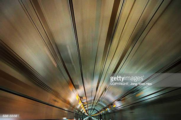 Entering into the time tunnel