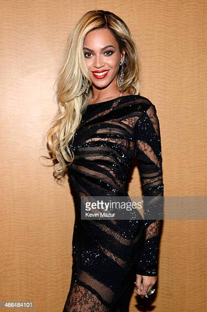 Entertainer Beyonce attends the DirecTV Super Saturday Night at Pier 40 on February 1 2014 in New York City