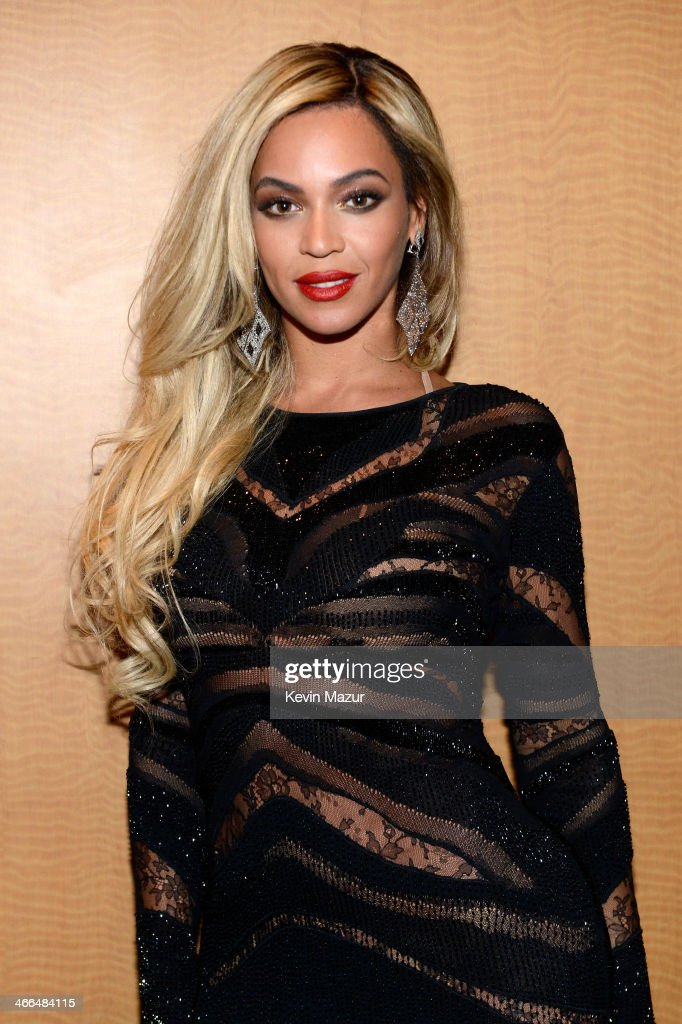 Entertainer Beyonce attends the DirecTV Super Saturday Night at Pier 40 on February 1, 2014 in New York City.