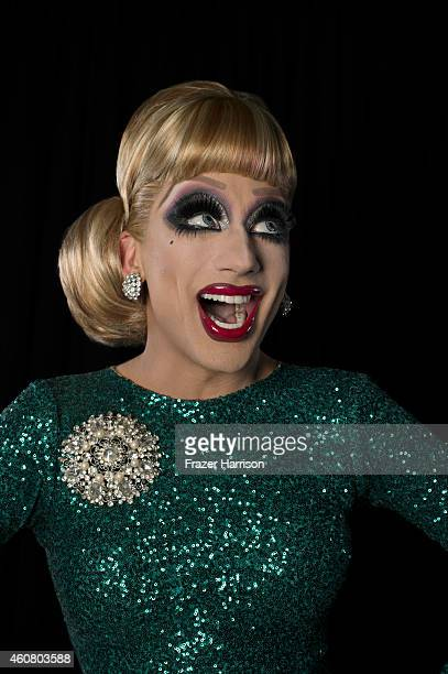 Entertainer Bianca Del Rio poses for a portrait at Logo TV's NewNowNext Awards on December 2 2014 at Kimpton Surfcomber Hotel in Miami Beach Florida