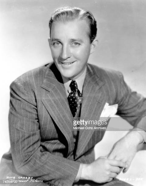 Entertainer Bing Crosby poses for portrait in circa 1940
