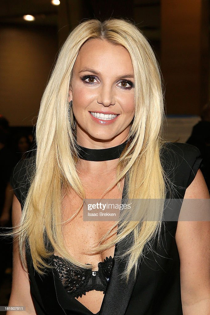 Entertainer <a gi-track='captionPersonalityLinkClicked' href=/galleries/search?phrase=Britney+Spears&family=editorial&specificpeople=156415 ng-click='$event.stopPropagation()'>Britney Spears</a> attends the iHeartRadio Music Festival at the MGM Grand Garden Arena on September 21, 2013 in Las Vegas, Nevada.