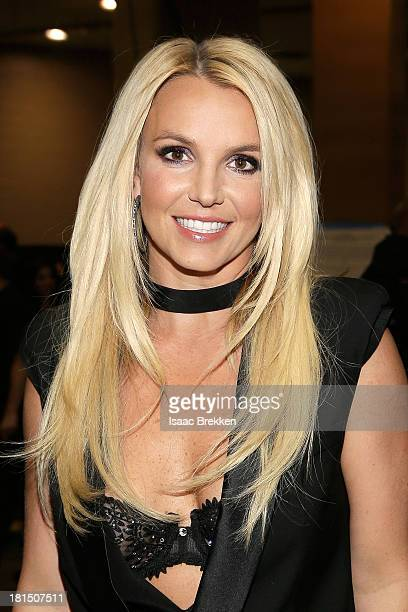Entertainer Britney Spears attends the iHeartRadio Music Festival at the MGM Grand Garden Arena on September 21 2013 in Las Vegas Nevada