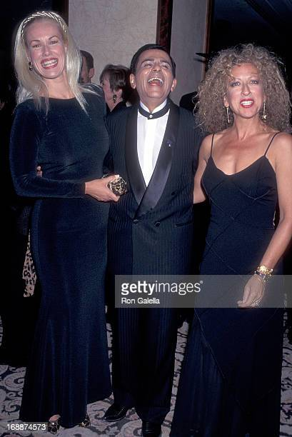 Entertainer Casey Kasem and wife Jean and comedienne Elayne Boosler attend the Los Angeles Police Department's 126th Anniversary Celebration and the...
