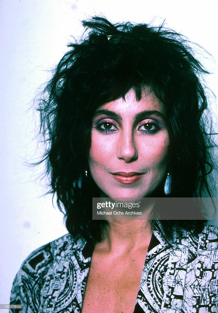 Entertainer <a gi-track='captionPersonalityLinkClicked' href=/galleries/search?phrase=Cher+-+Performer&family=editorial&specificpeople=203036 ng-click='$event.stopPropagation()'>Cher</a> poses for a portrait in 1986 in New York, New York.