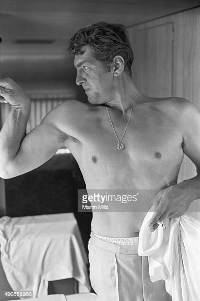 Entertainer Dean Martin poses for a portrait circa 1965 in Los Angeles California