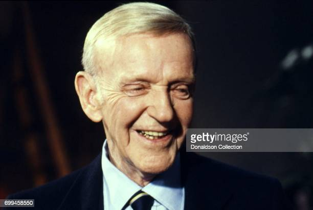 Entertainer Fred Astaire attends an event in 1983 in Los Angeles California