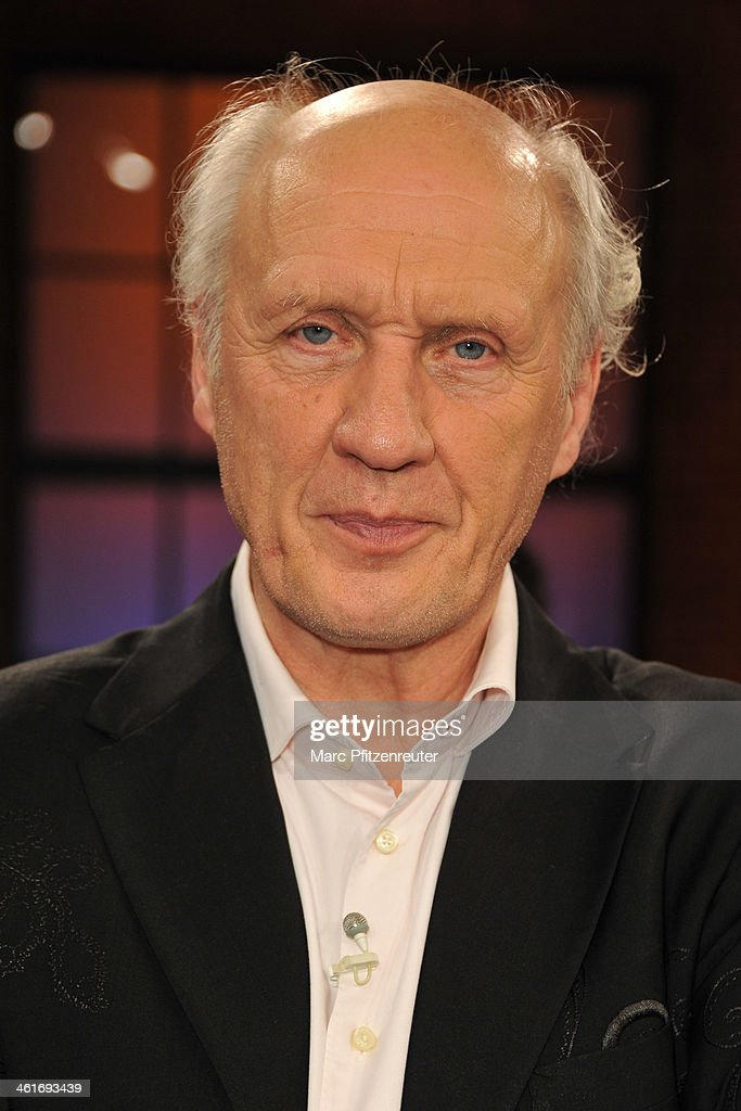 Entertainer Herman van Veen attends the Koelner Treff TV Show at the WDR Studio on January 10 2014 in Cologne Germany