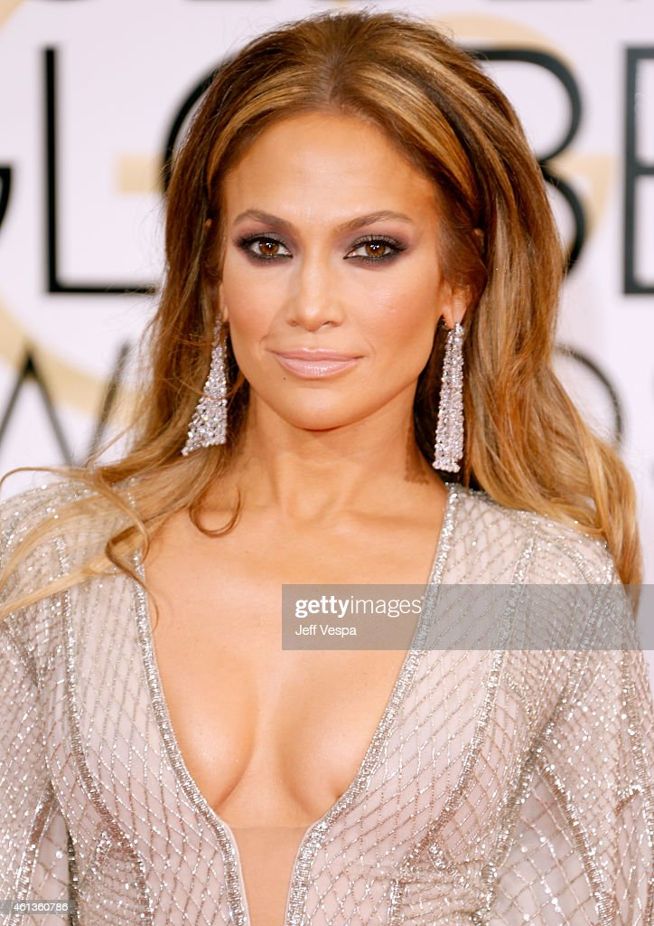 Entertainer <a gi-track='captionPersonalityLinkClicked' href=/galleries/search?phrase=Jennifer+Lopez&family=editorial&specificpeople=201784 ng-click='$event.stopPropagation()'>Jennifer Lopez</a> attends the 72nd Annual Golden Globe Awards at The Beverly Hilton Hotel on January 11, 2015 in Beverly Hills, California.