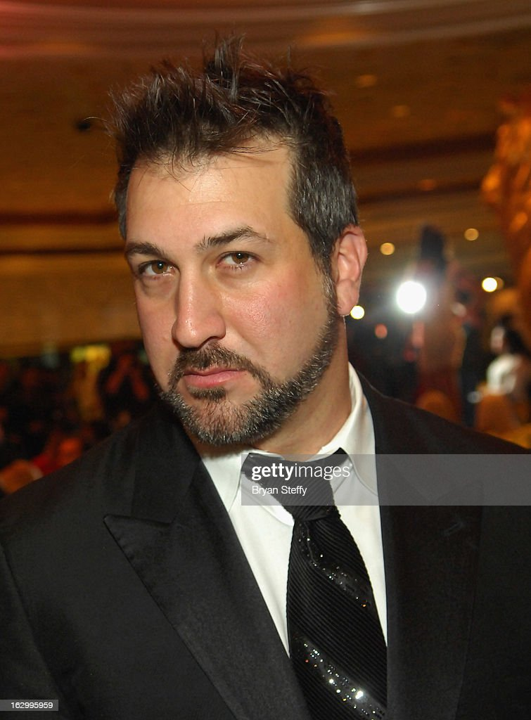 Entertainer Joey Fatone appears at the third annual TropicBeauty World Finals at the MGM Grand Hotel/Casino on March 2, 2013 in Las Vegas, Nevada.