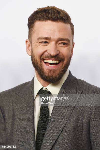 Entertainer Justin Timberlake attends the 89th Annual Academy Awards Nominee Luncheon at The Beverly Hilton Hotel on February 6 2017 in Beverly Hills...