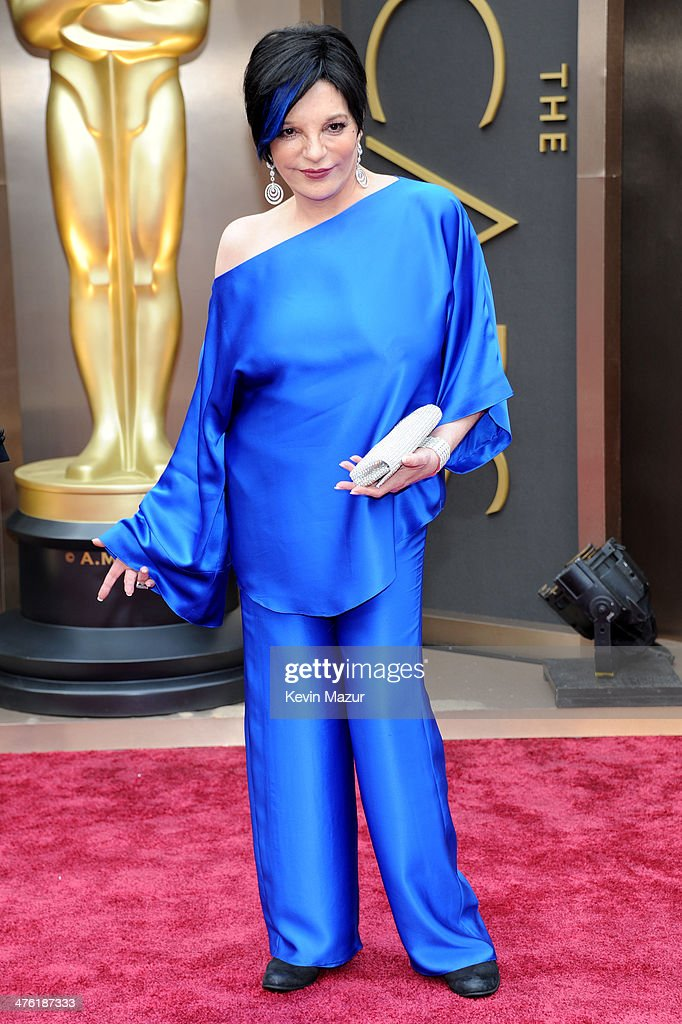 Entertainer Liza Minnelli attends the Oscars held at Hollywood Highland Center on March 2 2014 in Hollywood California