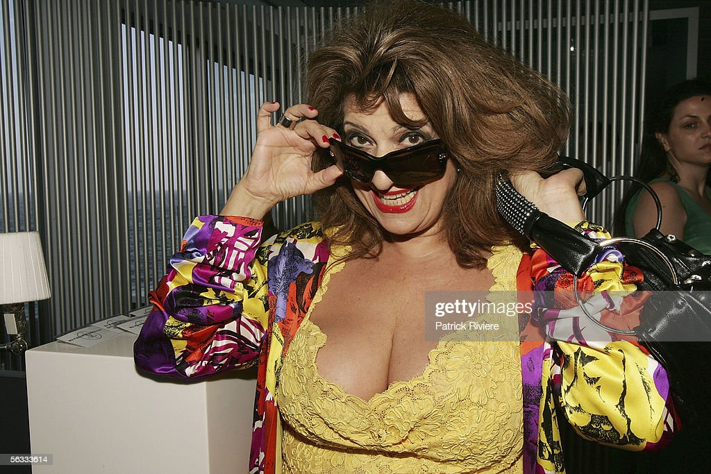 Entertainer Maria Venuti Attends The Italian Chamber Of Commerce Christmas Cocktails Party At Icebergs Dining