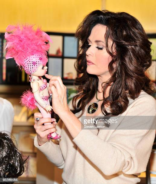 Entertainer Marie Osmond celebrates her new lifestyle collection at Hallmark Gold Crown on November 21 2009 in Las Vegas Nevada