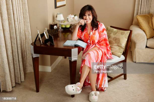 Entertainer Marie Osmond is photographed for Prevention Magazine on May 18 2012 in Las Vegas Nevada PUBLISHED IMAGE