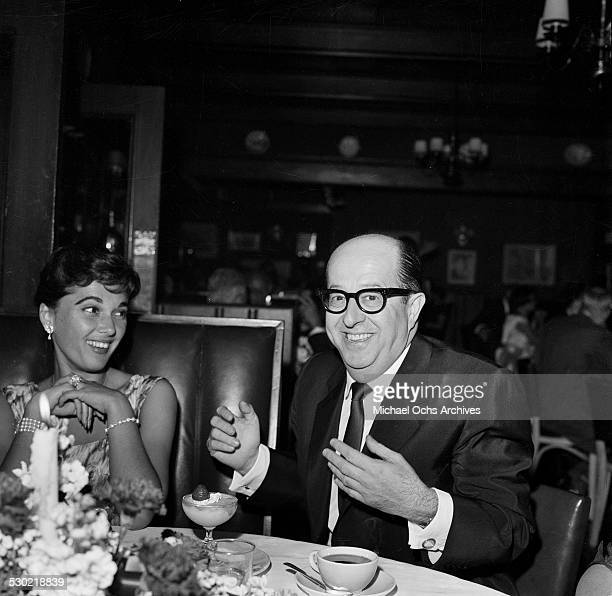 Entertainer Phil Silvers attends an event in Los AngelesCA