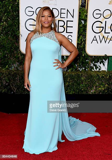 Entertainer Queen Latifah attends the 73rd Annual Golden Globe Awards held at the Beverly Hilton Hotel on January 10 2016 in Beverly Hills California