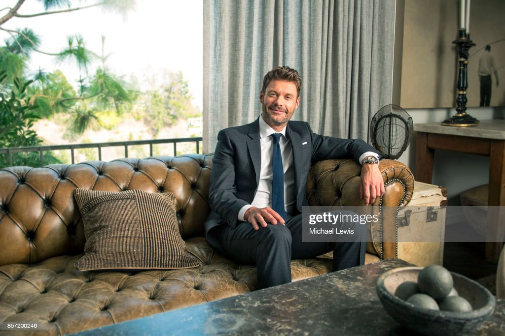 Entertainer Ryan Seacrest photographed for Variety on July 8, 2015, in Los Angeles, California.