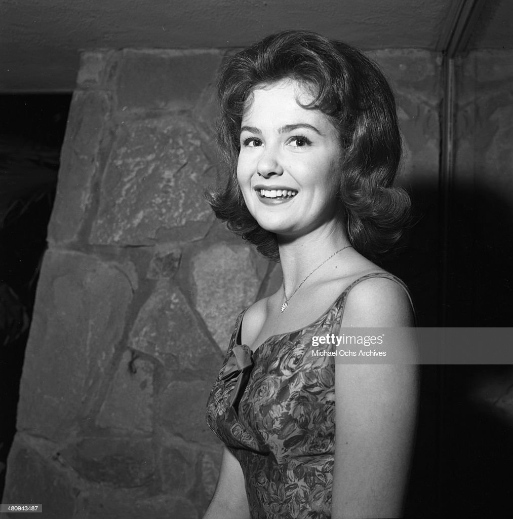 Entertainer Shelley Fabares poses for a portrait at an event in circa 1961